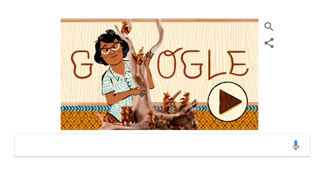 Google celebrated the life of Native American artist Amanda Crowe with a Google Doodle on Friday, Nov. 9, 2018.