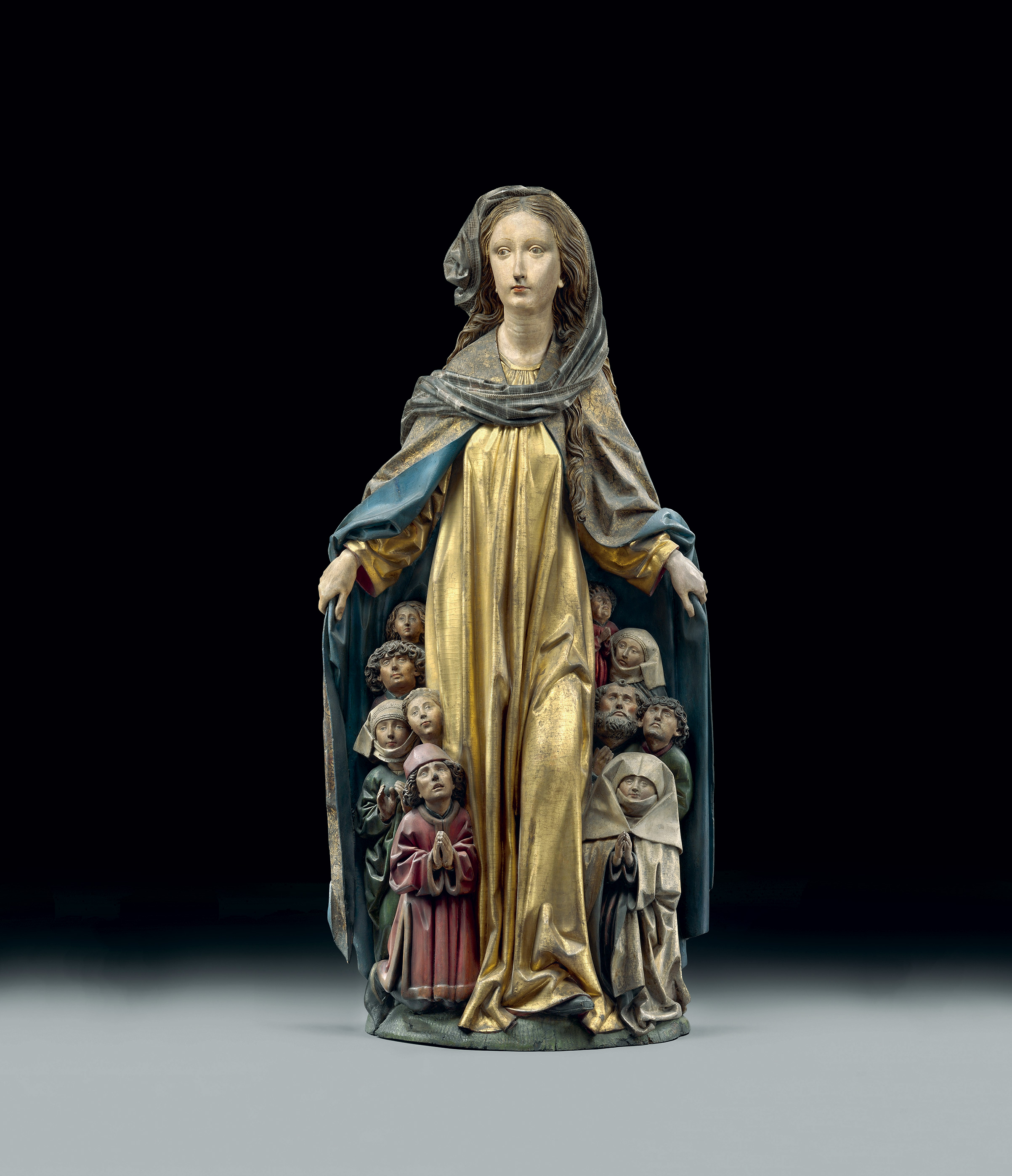 The Madonna with Protective Cloak, by Michel Erhart or Friedrich Schramm, c. 1480.
