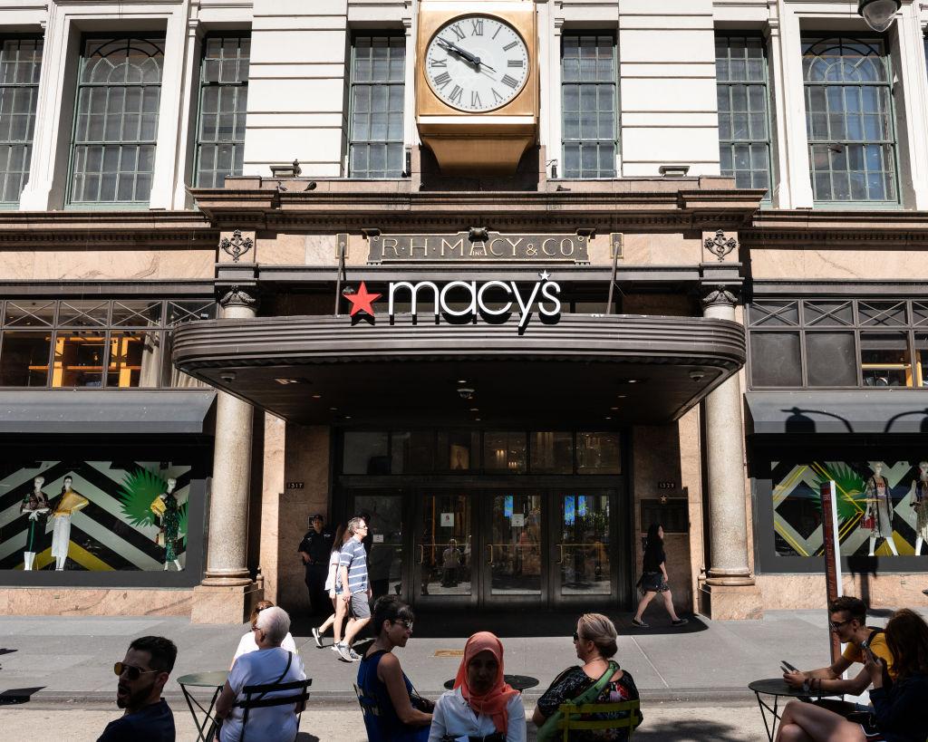 Macy's store in New York City.