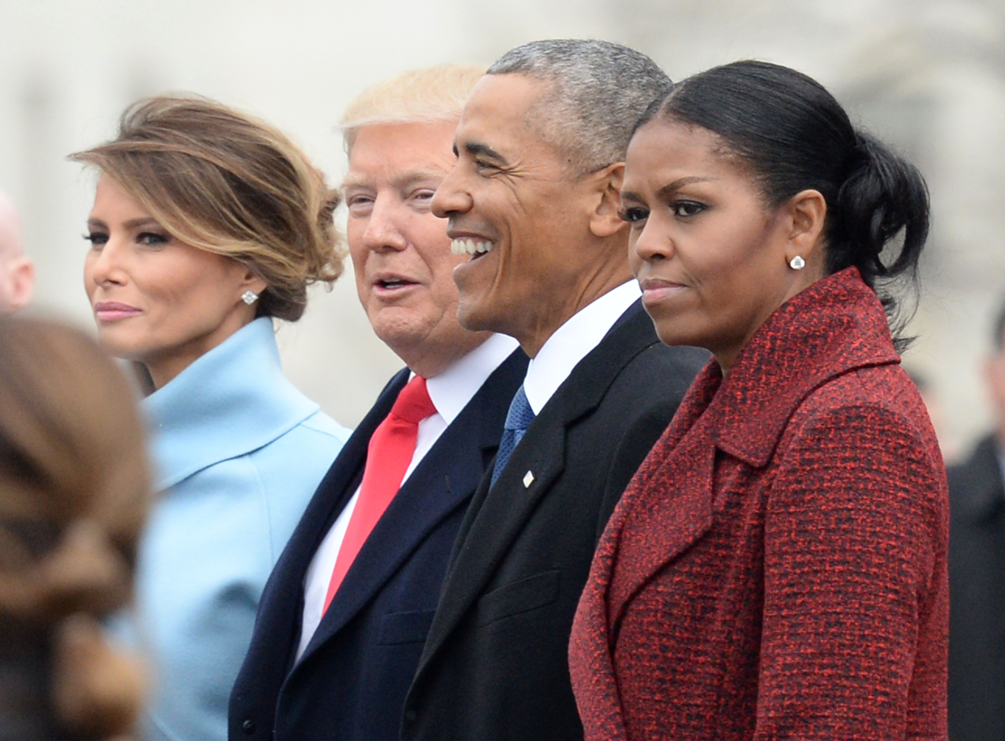 Michelle Obama Explains Her Look at Trump's Inauguration | Time