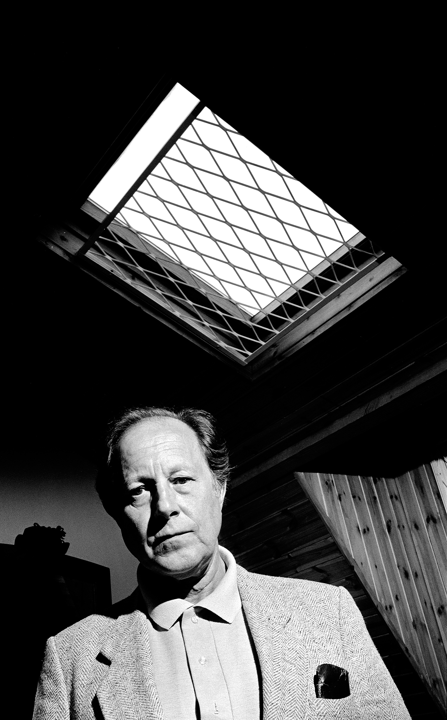 Film Director, Nicolas Roeg photographed at his home in London, 1984, for Time Out Magazine