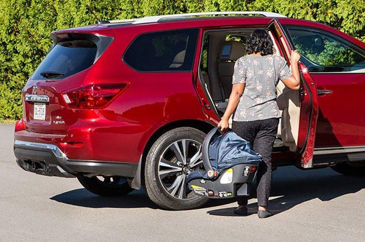 Nissan Rear Car Door Alert