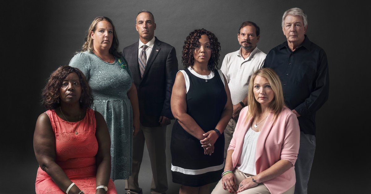 How Parents Of School Shooting Victims Lean On Each Other Time