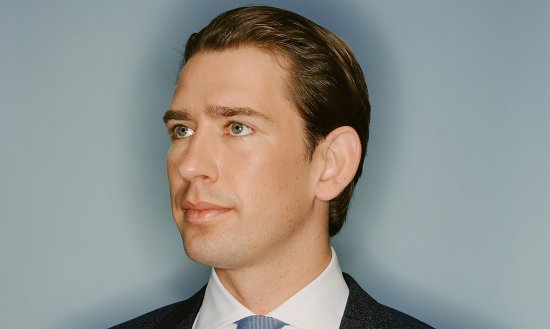 At 32, Kurz, photographed in October, is the youngest Chancellor in Austrian history