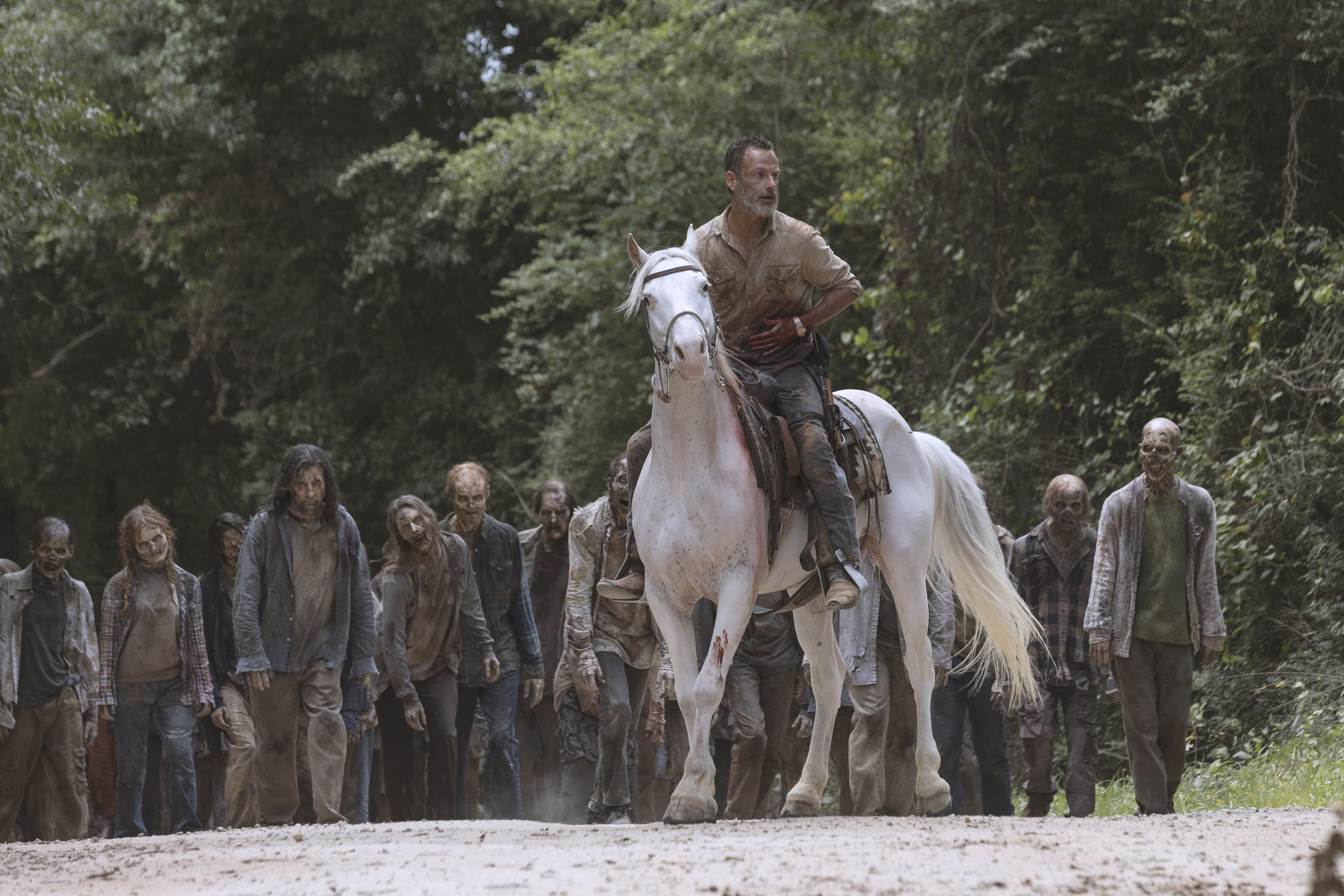 Andrew Lincoln as Rick Grimes - The Walking Dead Season 9, Episode 5