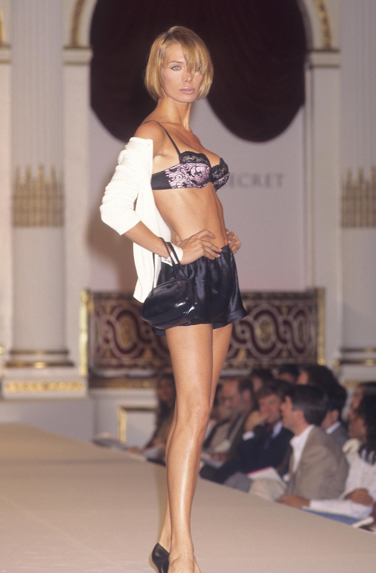 Angelika Kallio in the 1995 debut show