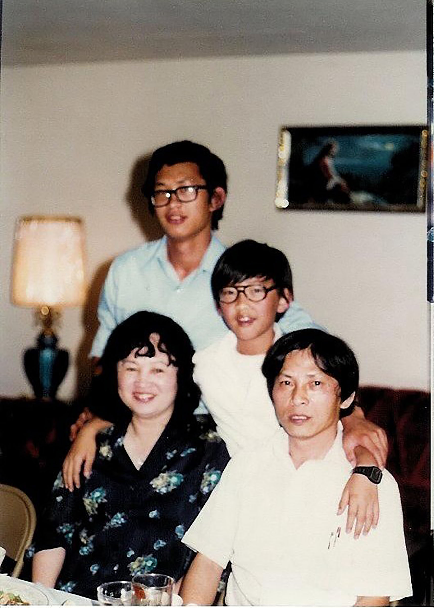 The Nguyen family, in the early 1980s in San Jose, Calif., where his parents owned the New Saigon Mini Market