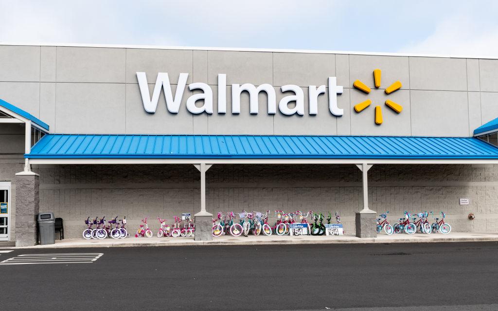 Walmart store in North Brunswick Township, New Jersey.