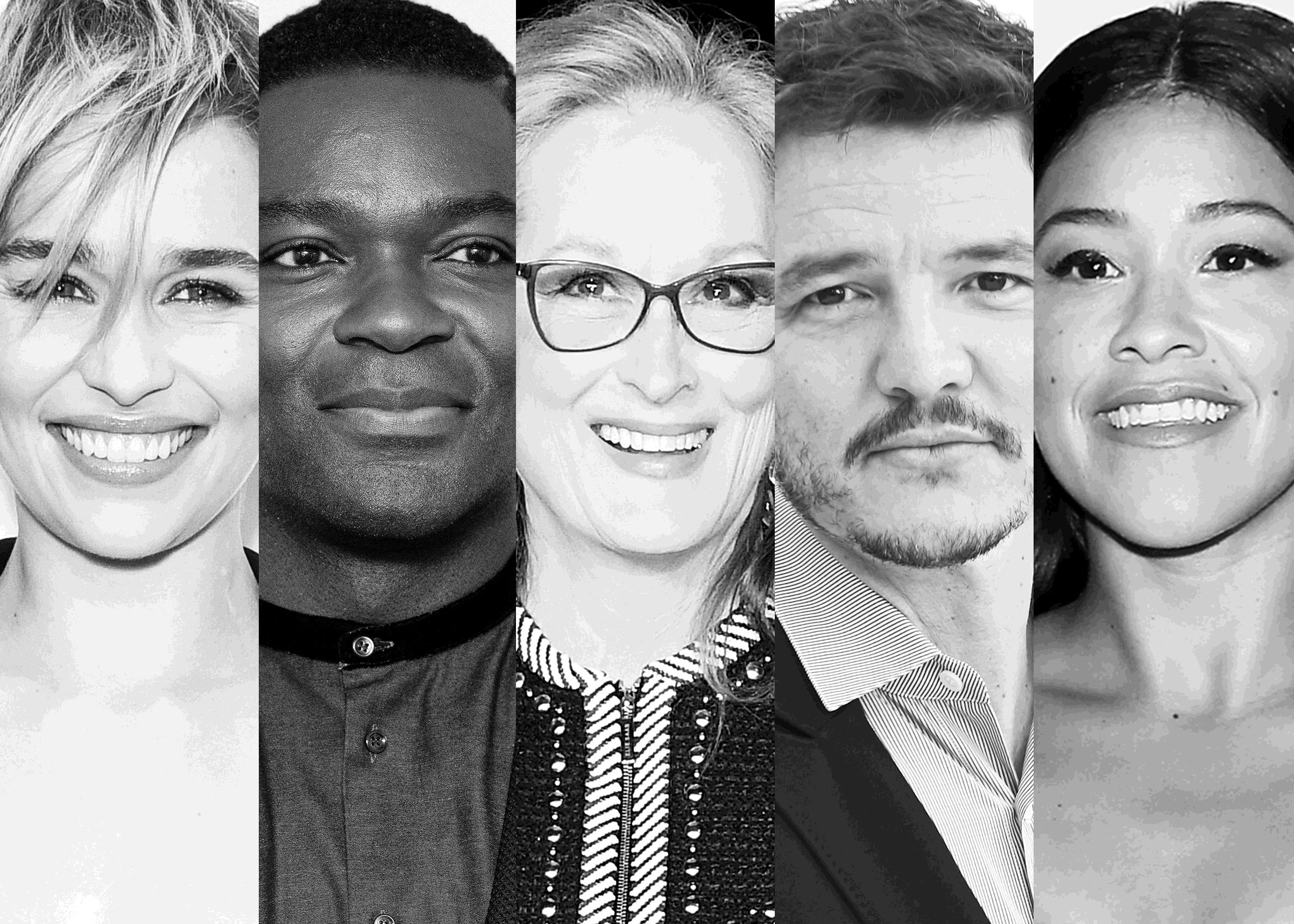 Emilia Clarke, David Oyelowo, Meryl Streep, Pedro Pascal and Gina Rodriguez.