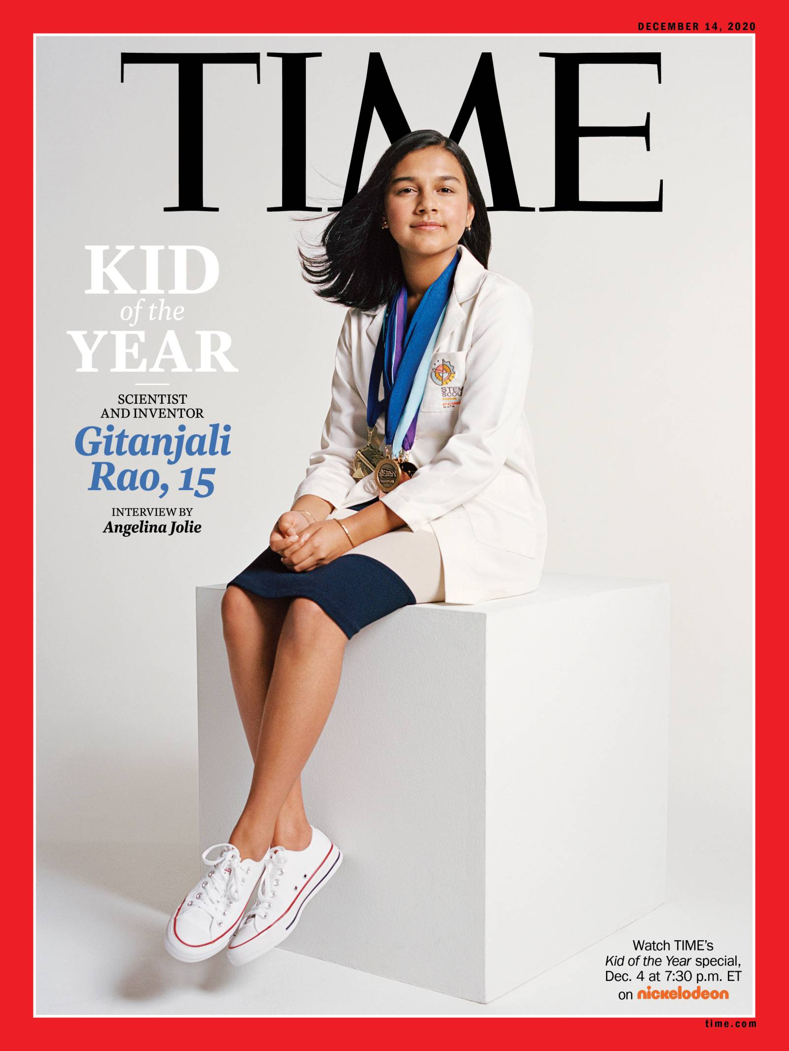 Time S 2020 Kid Of The Year Meet Gitanjali Rao Time