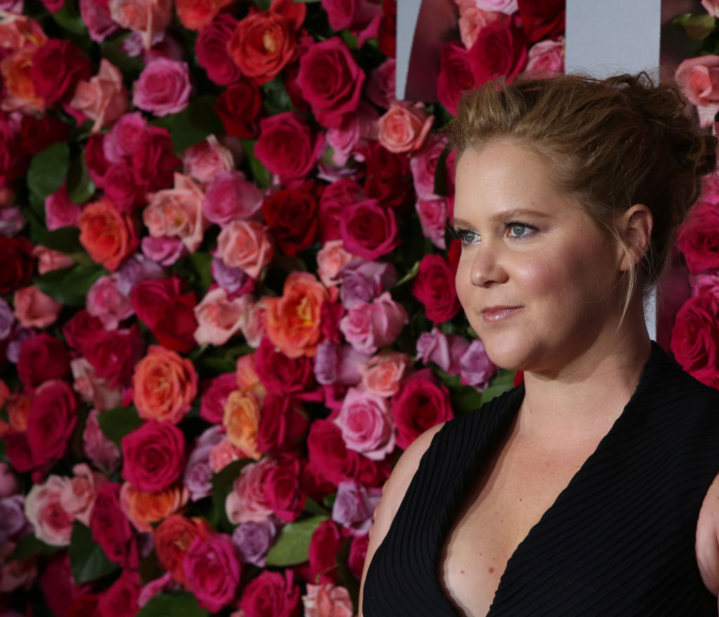 Amy Schumer attends the 72nd Annual Tony Awards on June 10, 2018 at Radio City Music Hall in New York City.