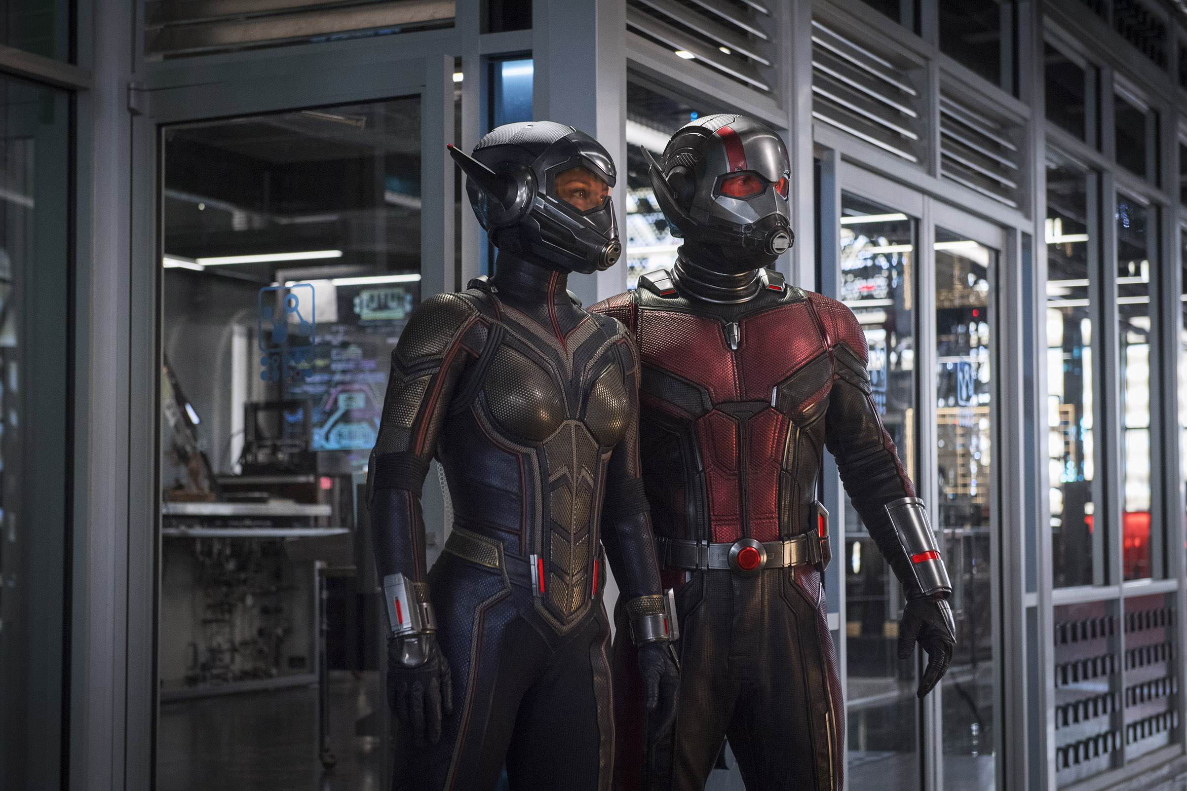 Michelle Pfeiffer as Wasp in  Ant Man & the Wasp