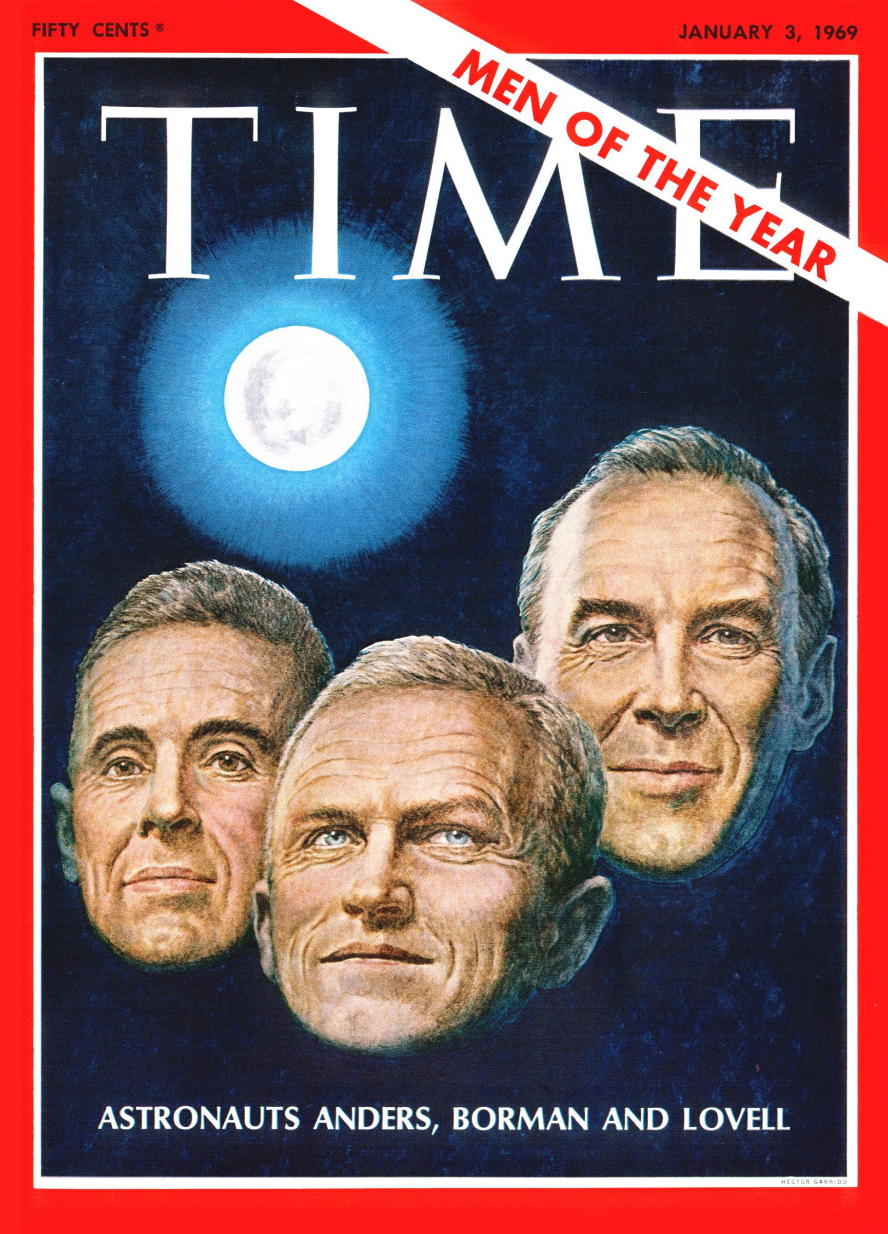 Fifty years ago, Apollo 8 astronauts Bill Anders, Frank Borman and Jim Lovell were a late but compelling choice for TIME's Men of the Year.