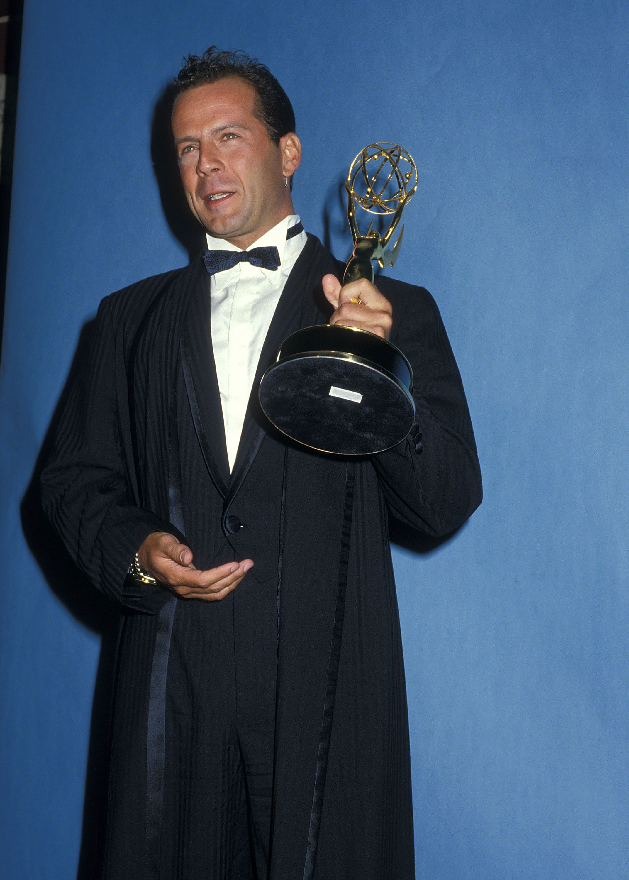 Actor Bruce Willis attends the 39th Annual Primetime Emmy Awards on September 20, 1987 at the Pasadena Civic Auditorium in Pasadena, California.
