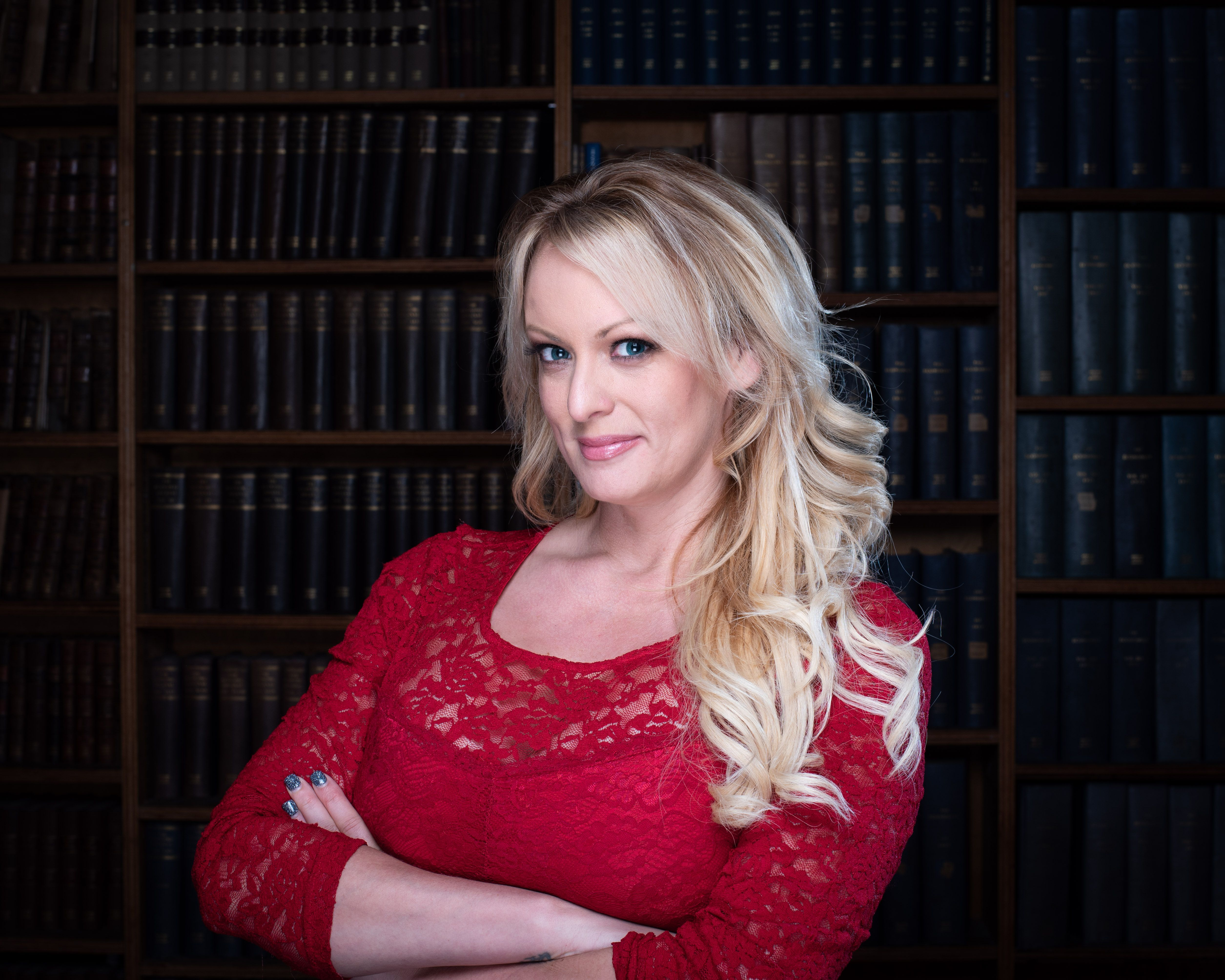 Stormy Daniels at Oxford Union, UK on Nov. 15, 2018. Michael Cohen test