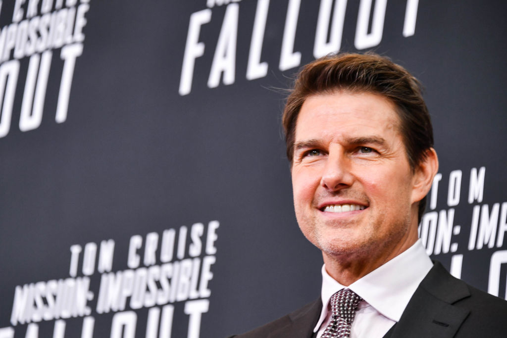 Actor Tom Cruise attends the 'Mission: Impossible - Fallout' US Premiere at Lockheed Martin IMAX Theater at the Smithsonian National Air & Space Museum on July 22, 2018 in Washington, D.C.