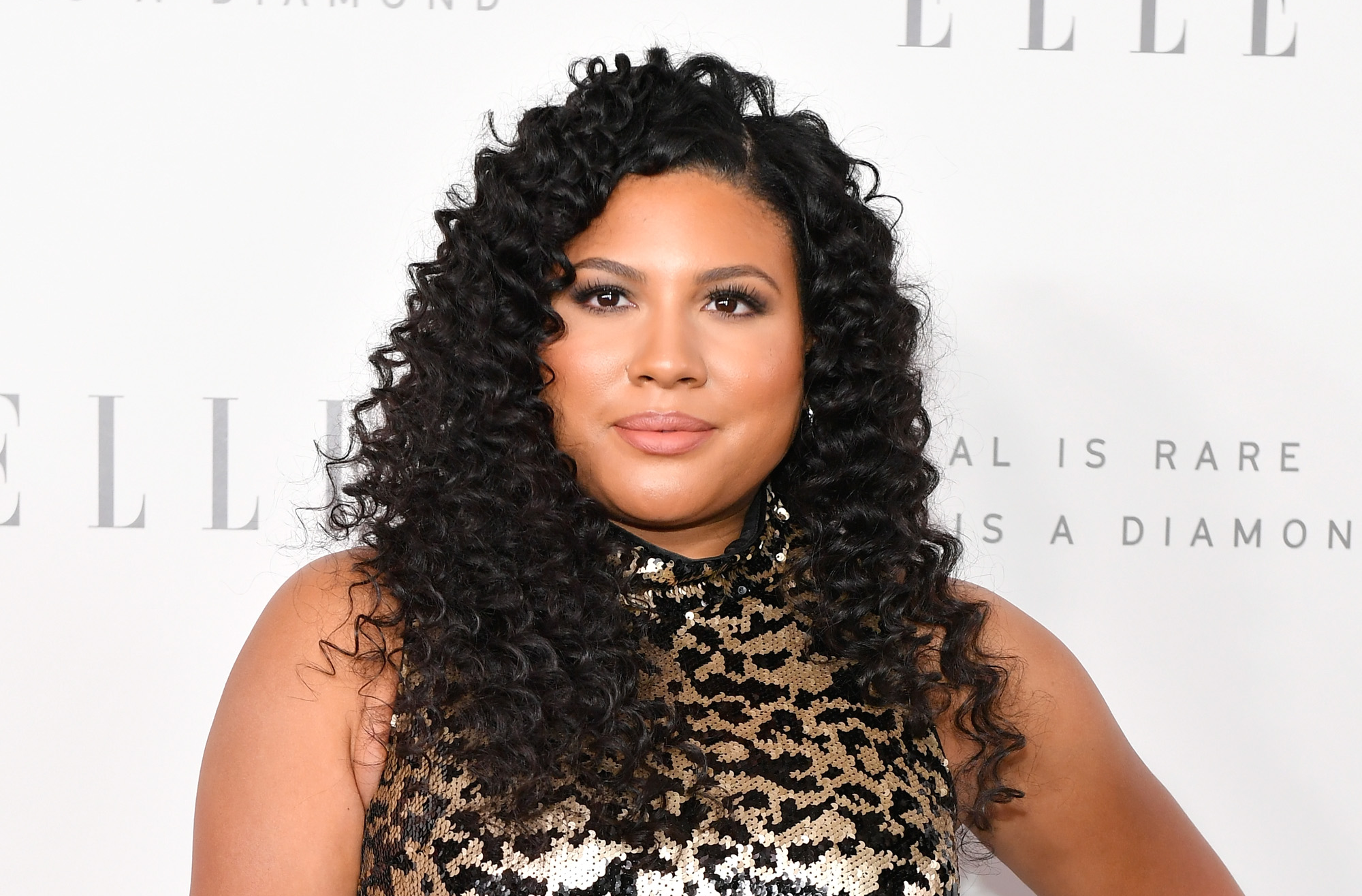 Tracy Oliver attends ELLE's 24th Annual Women in Hollywood Celebration