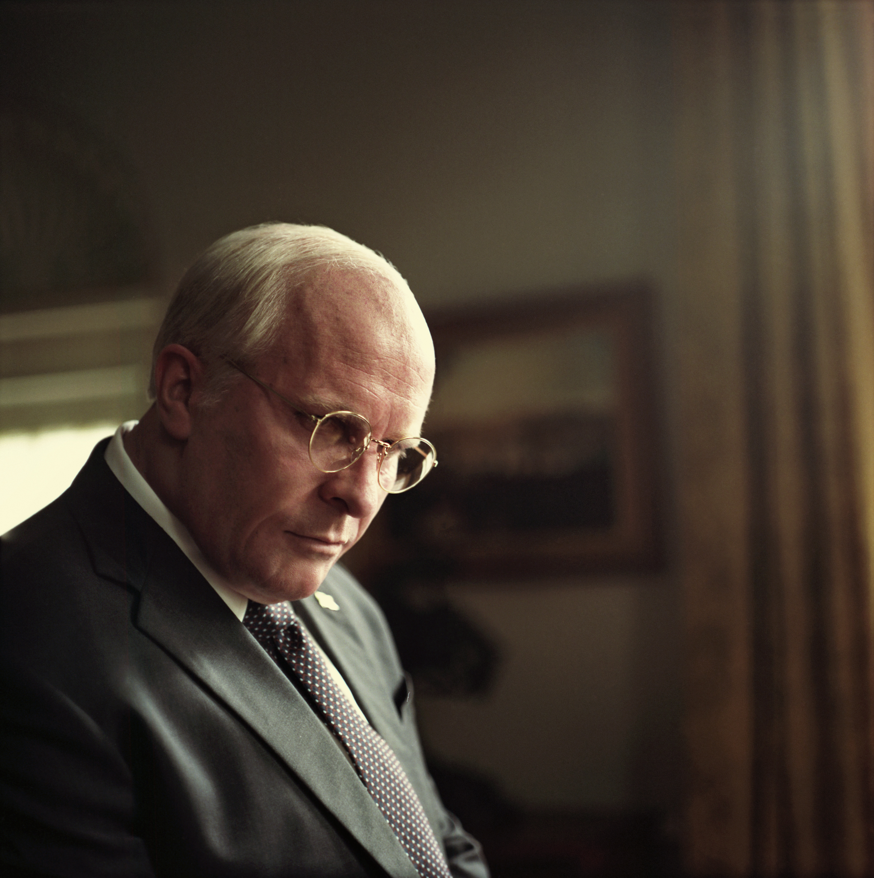 Christian Bale as Dick Cheney in Adam McKay's VICE.
