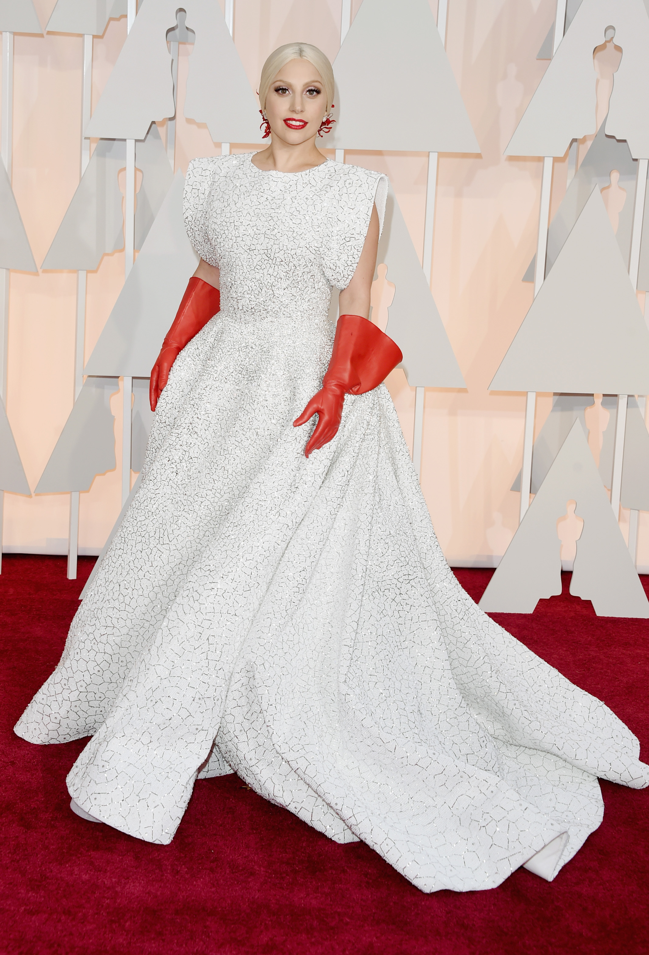 HOLLYWOOD, CA - FEBRUARY 22:  Recording artist Lady Gaga attends the 87th Annual Academy Awards at Hollywood & Highland Center on February 22, 2015 in Hollywood, California.  (Photo by Jason Merritt/Getty Images)