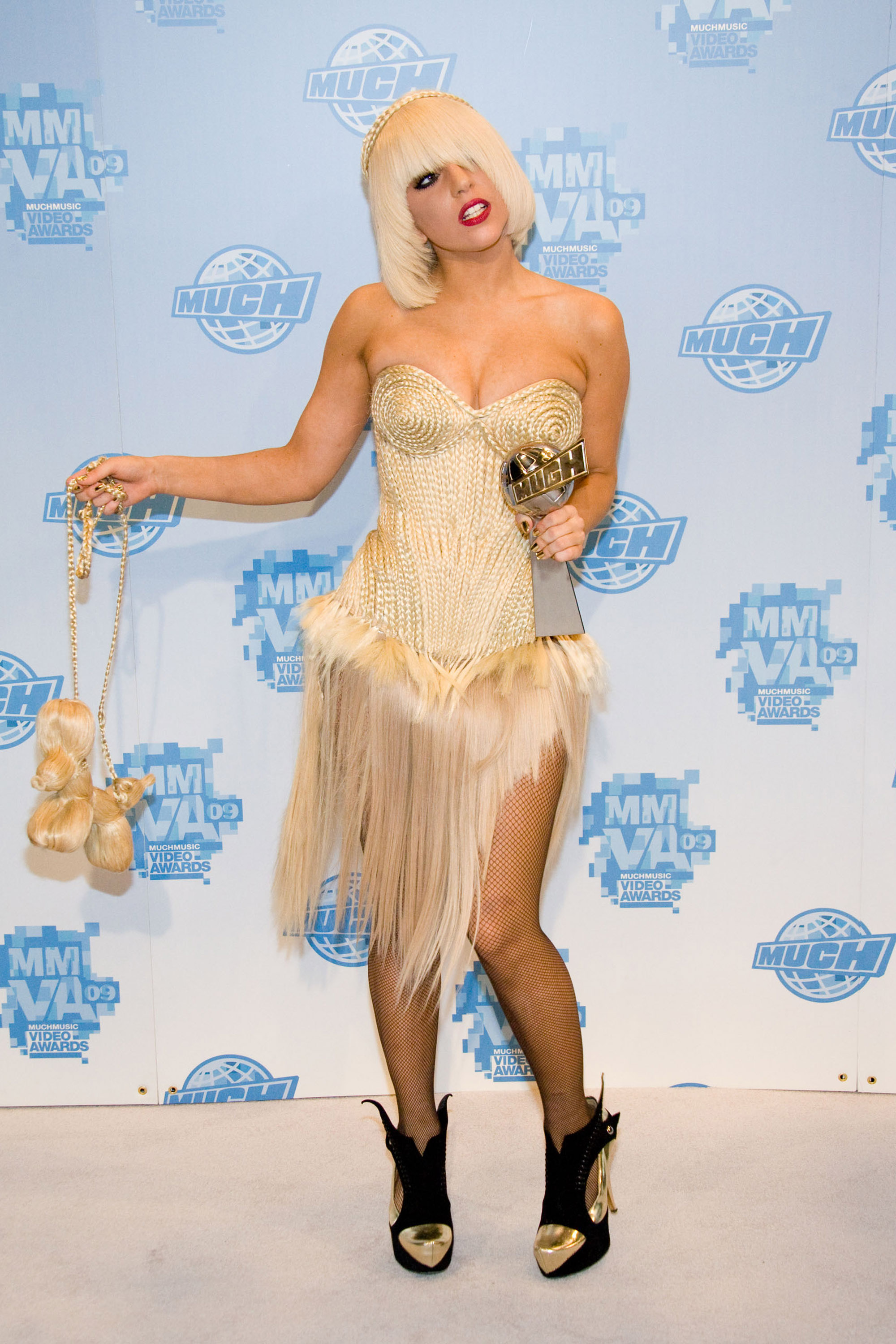 TORONTO, ON - JUNE 21:  Lady Gaga attends the press room at the 20th Annual MuchMusic Video Awards at the MuchMusic HQ on June 21, 2009 in Toronto, Canada.  (Photo by George Pimentel/WireImage)