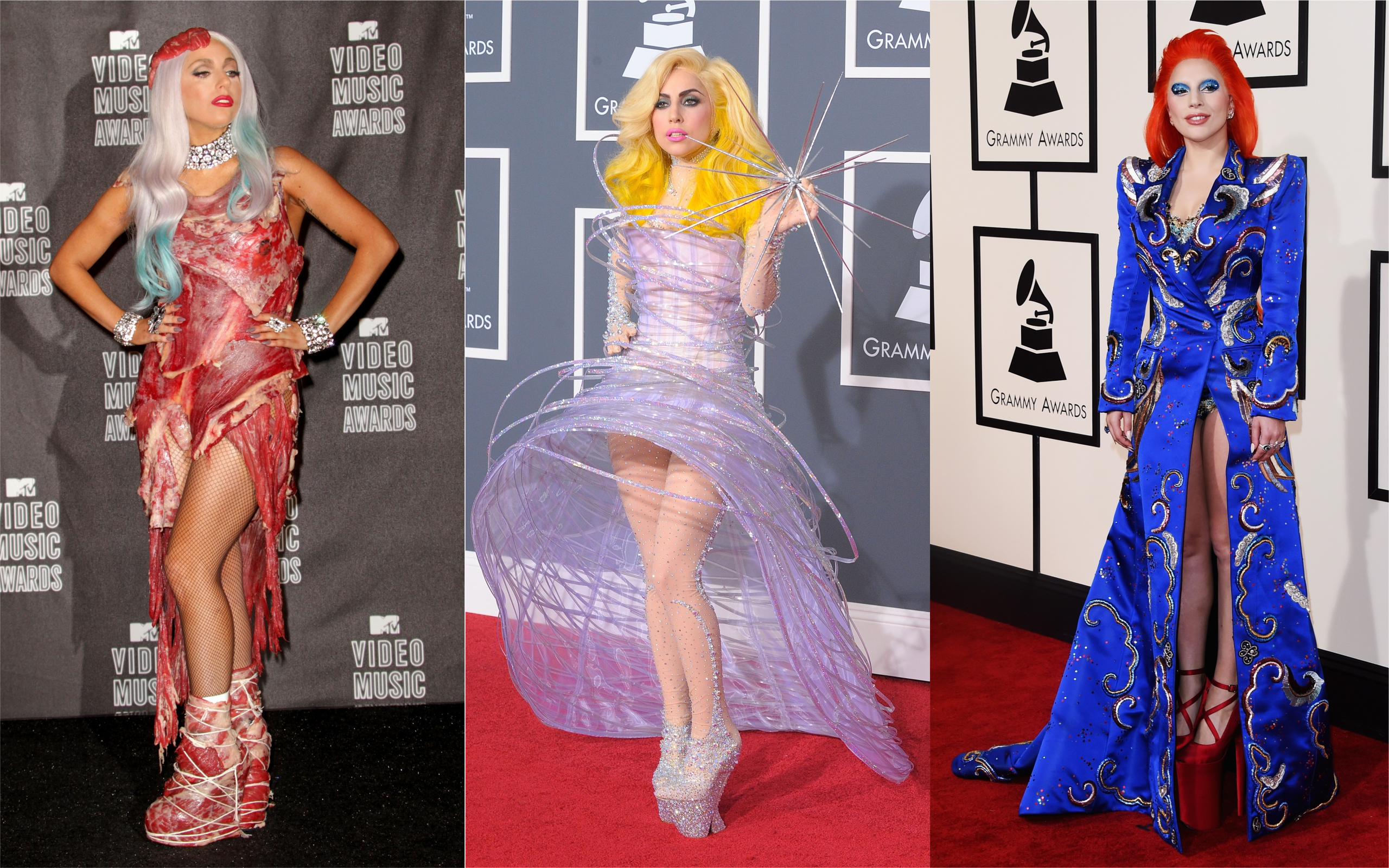 lady gaga s best red carpet looks meat dress star is born time lady gaga s best red carpet looks meat