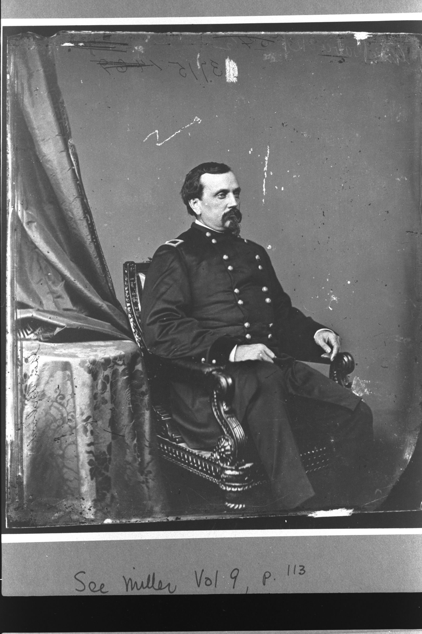 Orville Babcock was an American military officer. He was an aide-de-camp to General Grant during the Civil War, and then was his private secretary when Grant was president.