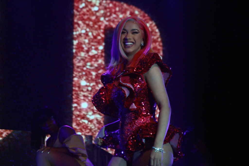 Cardi B performs as part of Electric Holiday Concert at Puerto Rico Convention Center on December 21, 2018 in San Juan, Puerto Rico.