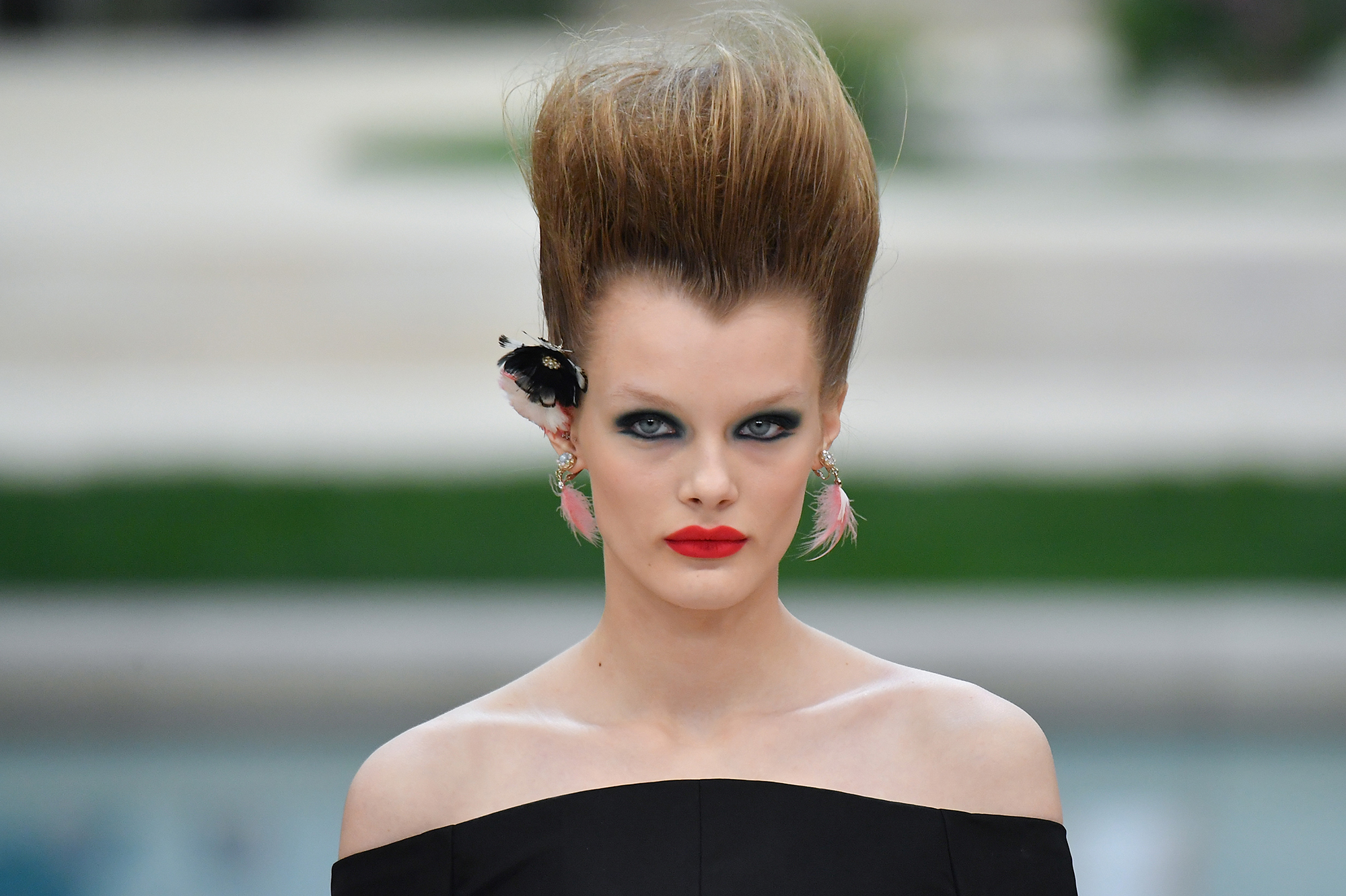 Chanel Haute Couture 2019 Featured David Bowie Inspired Hair Time