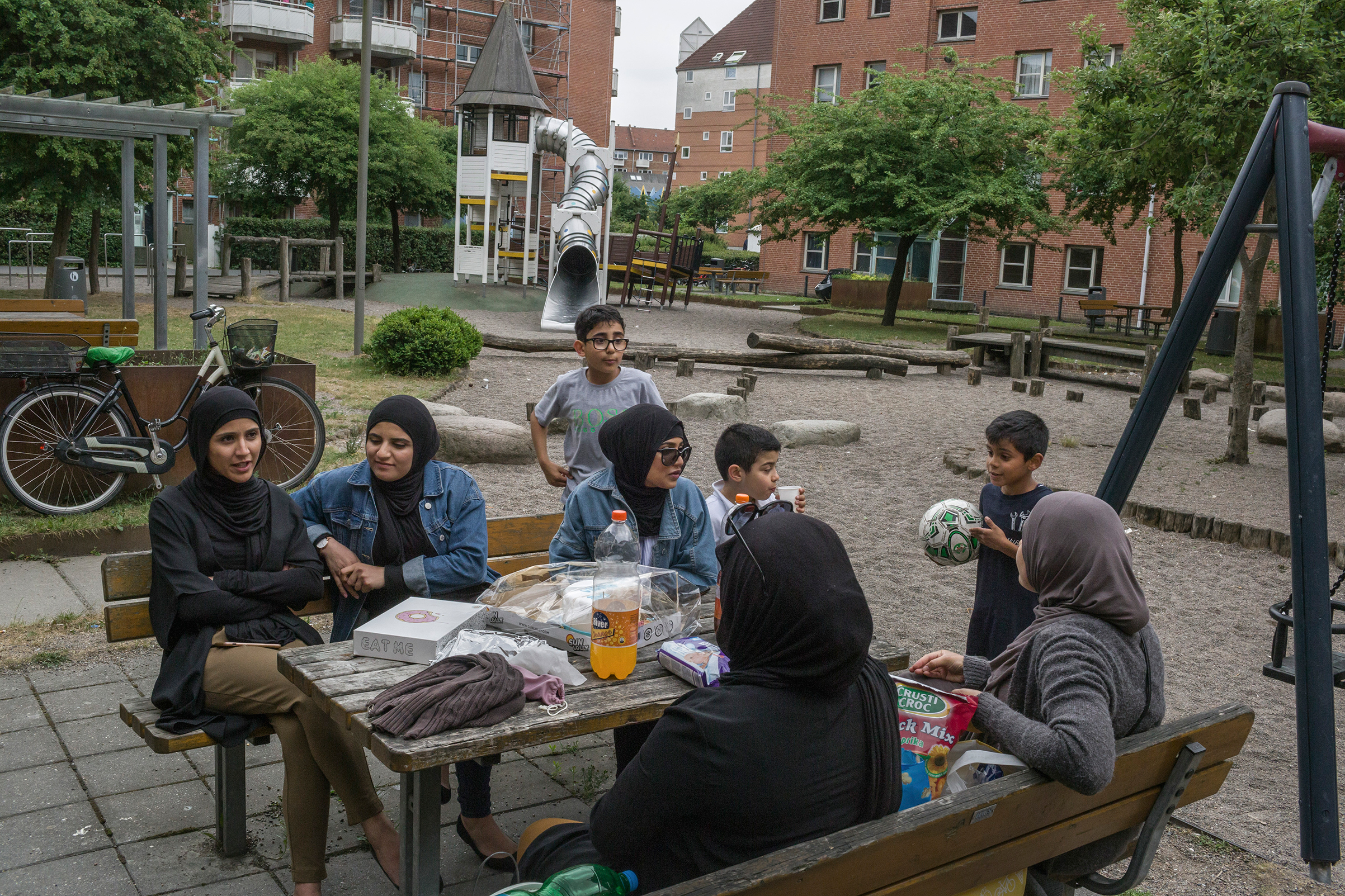 "Mjolnerparken, a housing project in Copenhagen, is classified as a ""ghetto."""
