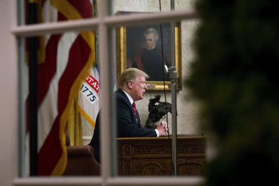 As the impasse drags on, the White House has tried to cast a shutdown Trump created as the Democrats' fault