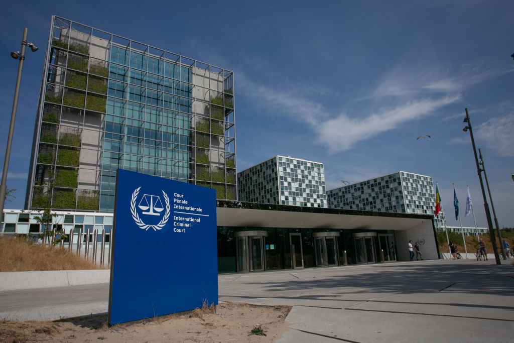 The International Criminal Court is seen on July 20, 2018 in The Hague, Netherlands.