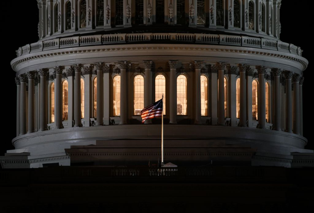 The U.S. Capitol is seen on the 25th day of the partial government shutdown at the Capitol Building in Washington D.C., on Jan. 15, 2019.