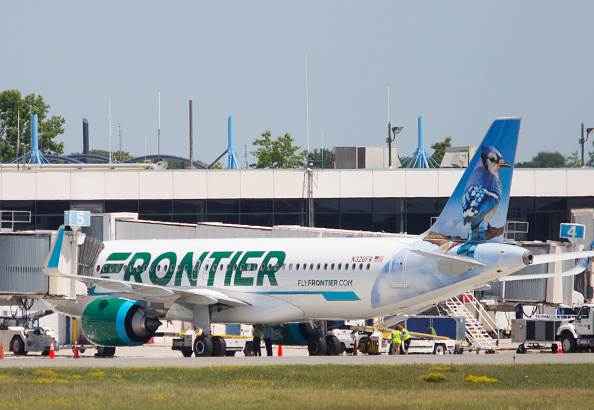 Frontier are the only carrier that allows passengers to tip flight attendants.