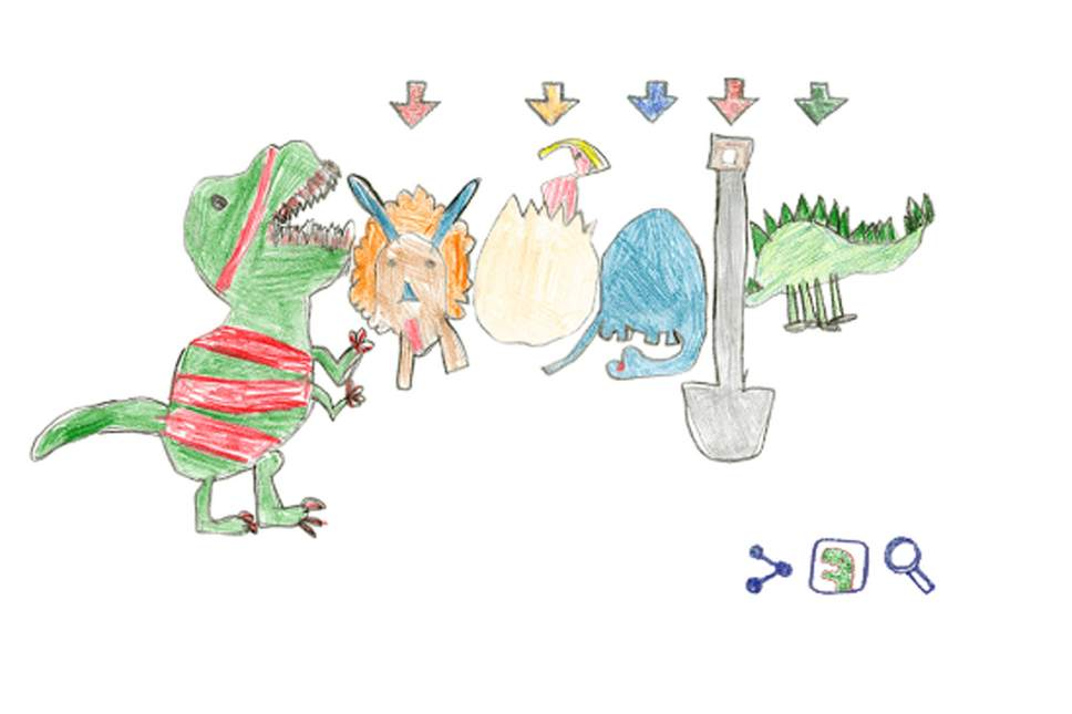 doodle for google contest winner is 2nd grader with a big dream time doodle for google contest winner is 2nd