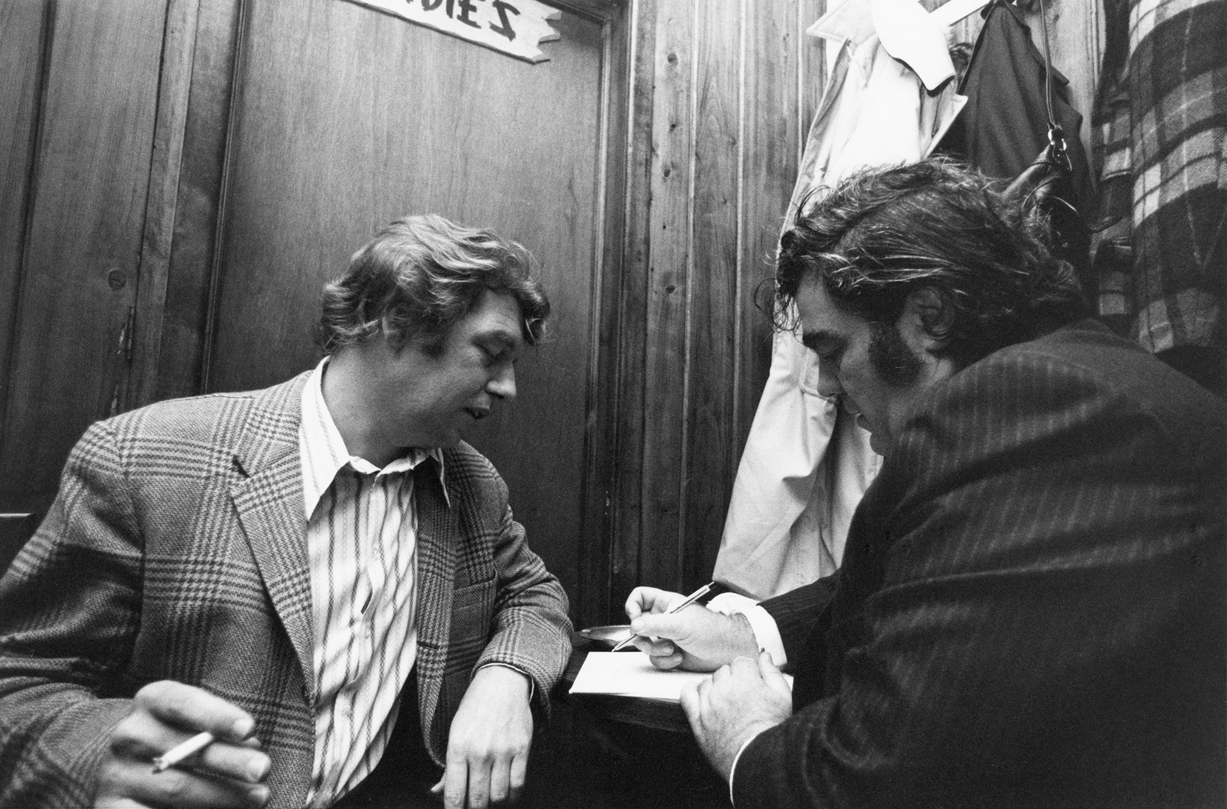Hamill and Breslin: colleagues, friends and stars of the New York City newspaper world
