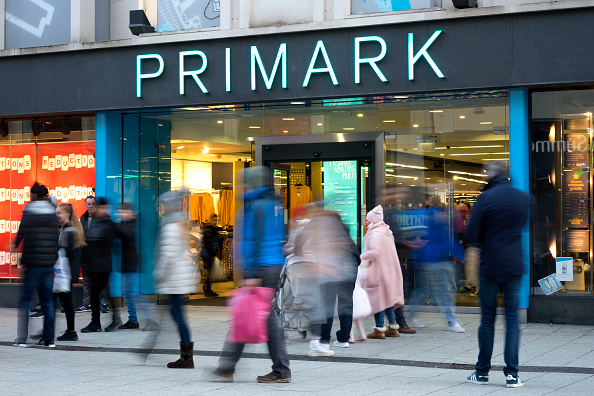 A general view of the Primark store on December 30, 2018 in Cardiff, United Kingdom.