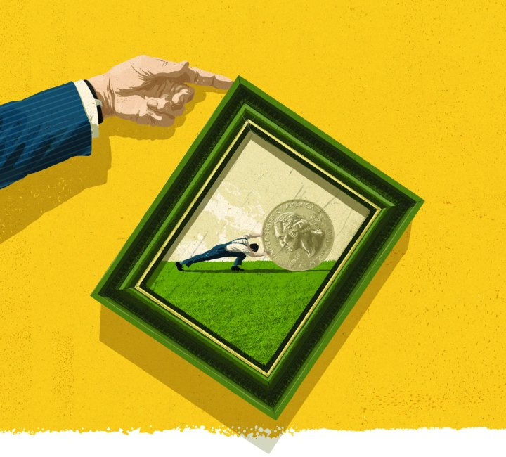 Industrial Revolution Equality Illustration