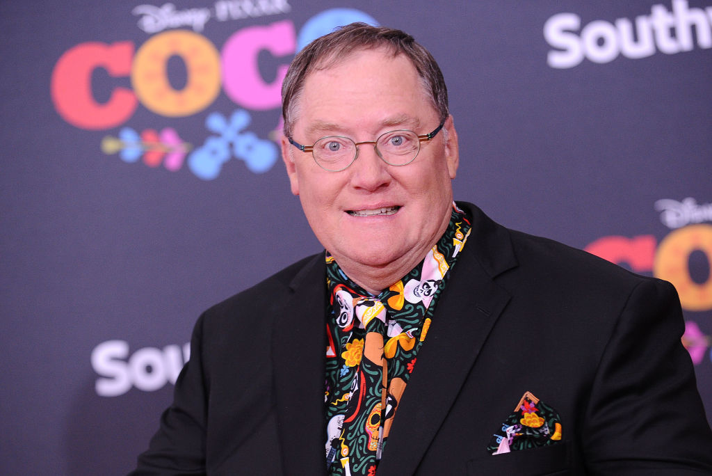 John Lasseter attends the premiere of  Coco  at El Capitan Theatre on Nov. 8, 2017 in Los Angeles, California. He was hired at Skydance Media on Jan. 9, 2019 after being ousted from Disney due to workplace misconduct.