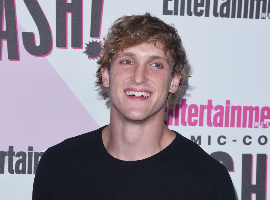 SAN DIEGO, CA - JULY 21:  Logan Paul attends the annual Entertainment Weekly Comic-Con Celebration at Float at Hard Rock Hotel San Diego on July 21, 2018 in San Diego, California.  (Photo by C Flanigan/FilmMagic)