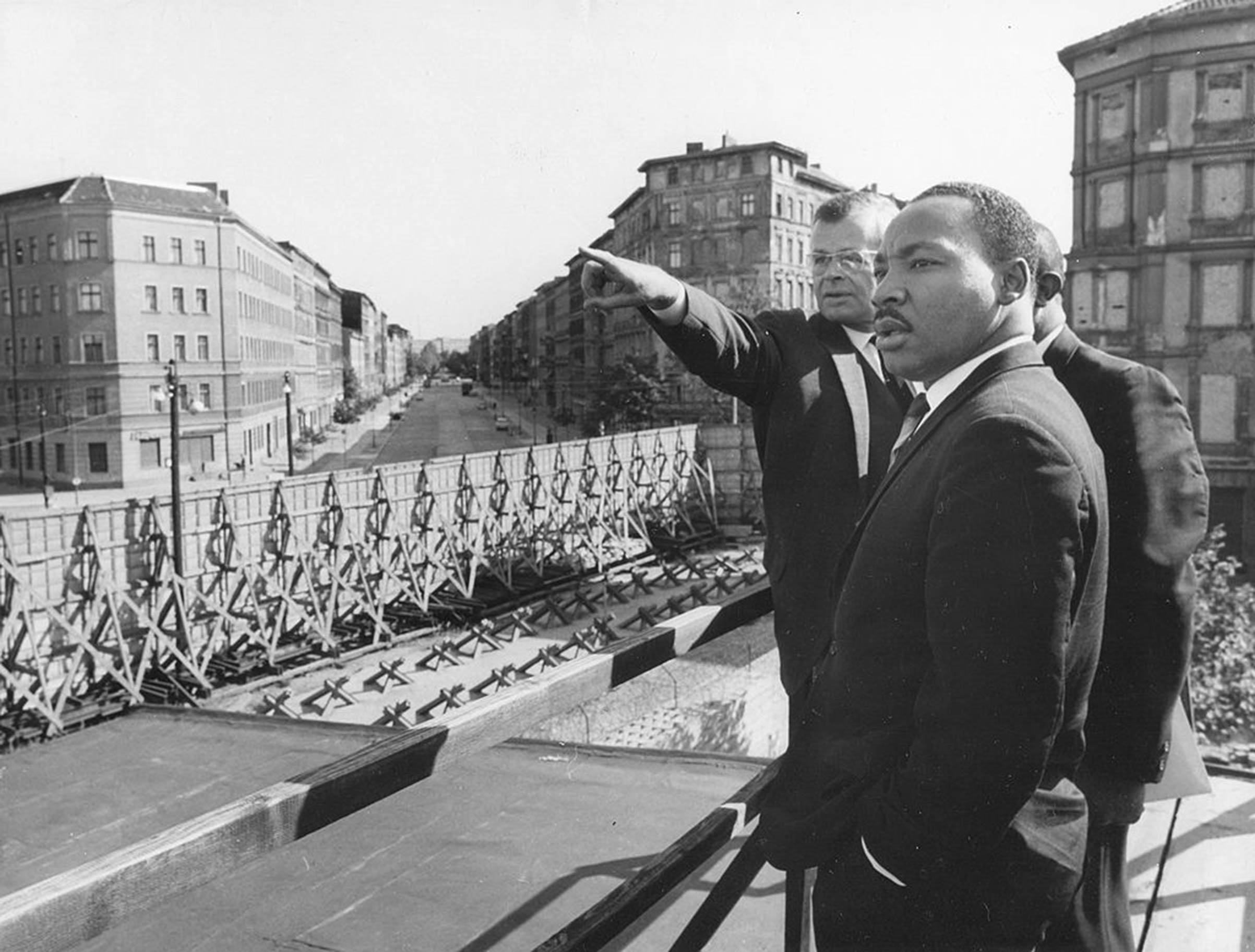 Martin Luther King in Berlin on Sept. 12, 1964.