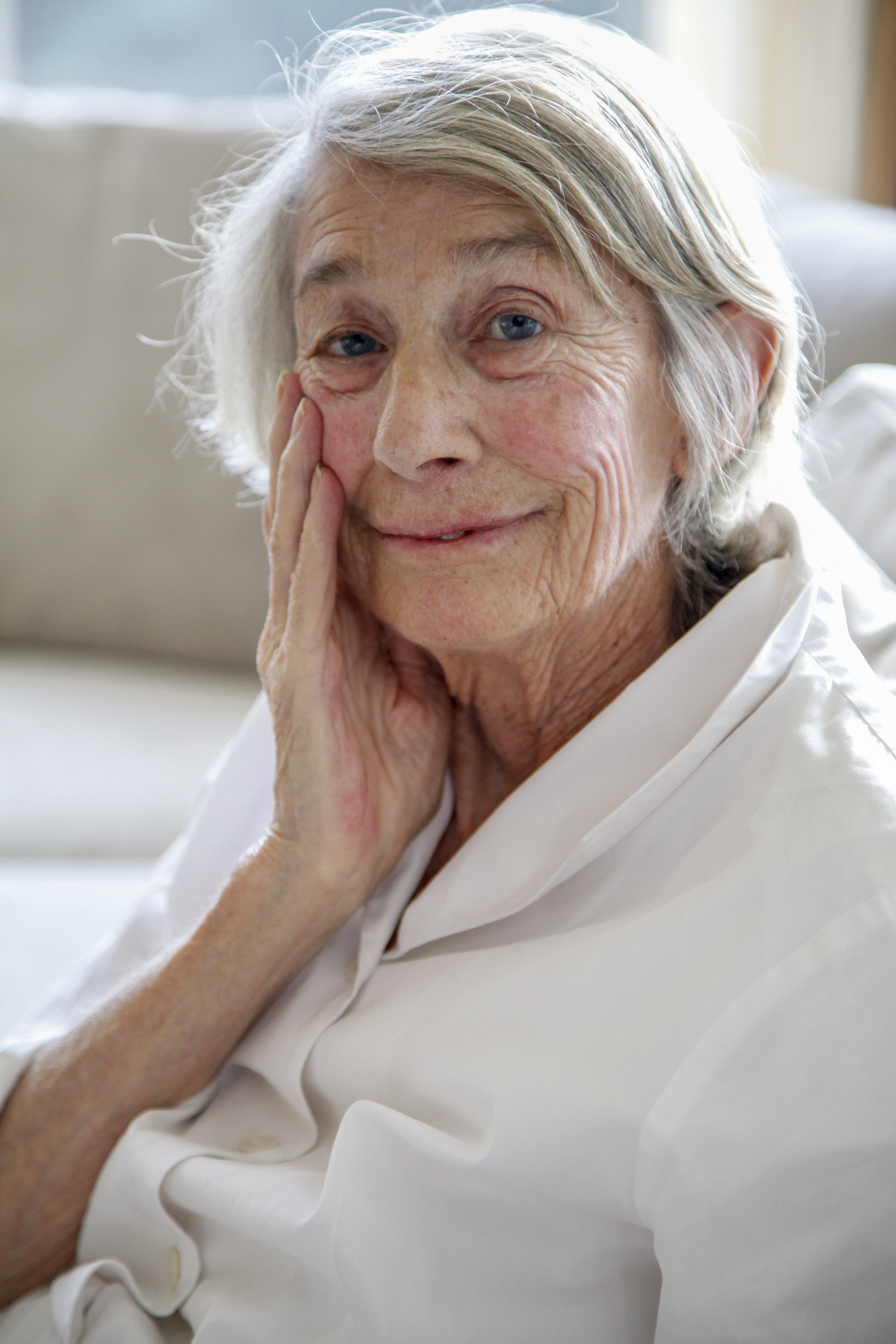 In addition to her Pulitzer Prize, Oliver, shown here in 2013, received the National Book Award for Poetry in 1992