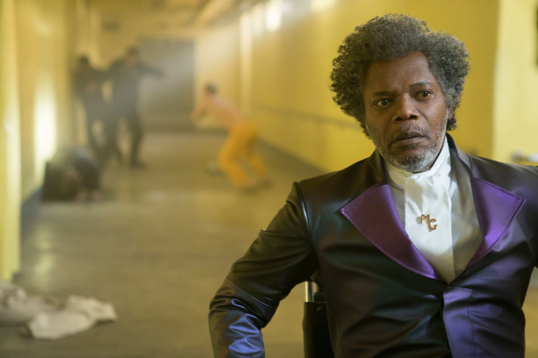 Samuel L. Jackson as Elijah Price/Mr. Glass in 'Glass'