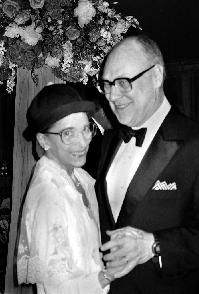 Supreme Court Justice Ruth Bader Ginsburg with her husband, Martin.