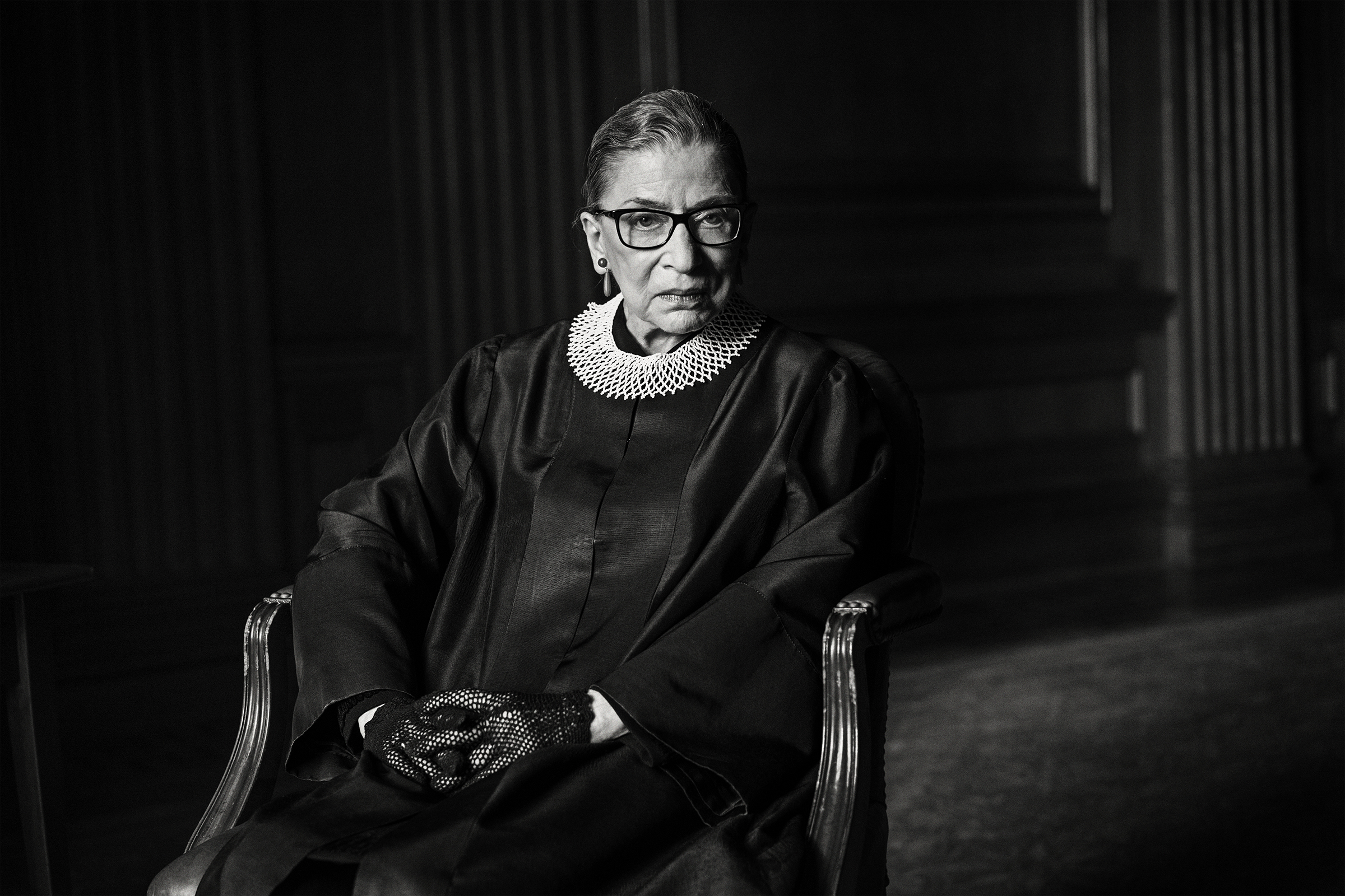 Supreme Court Associate Justice Ruth Bader Ginsburg, photographed in 2015.