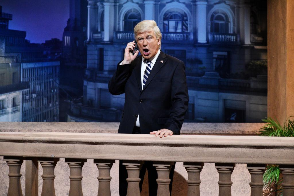 Alec Baldwin as Donald Trump on  Saturday Night Live  in Studio 8H on Saturday, December 1, 2018