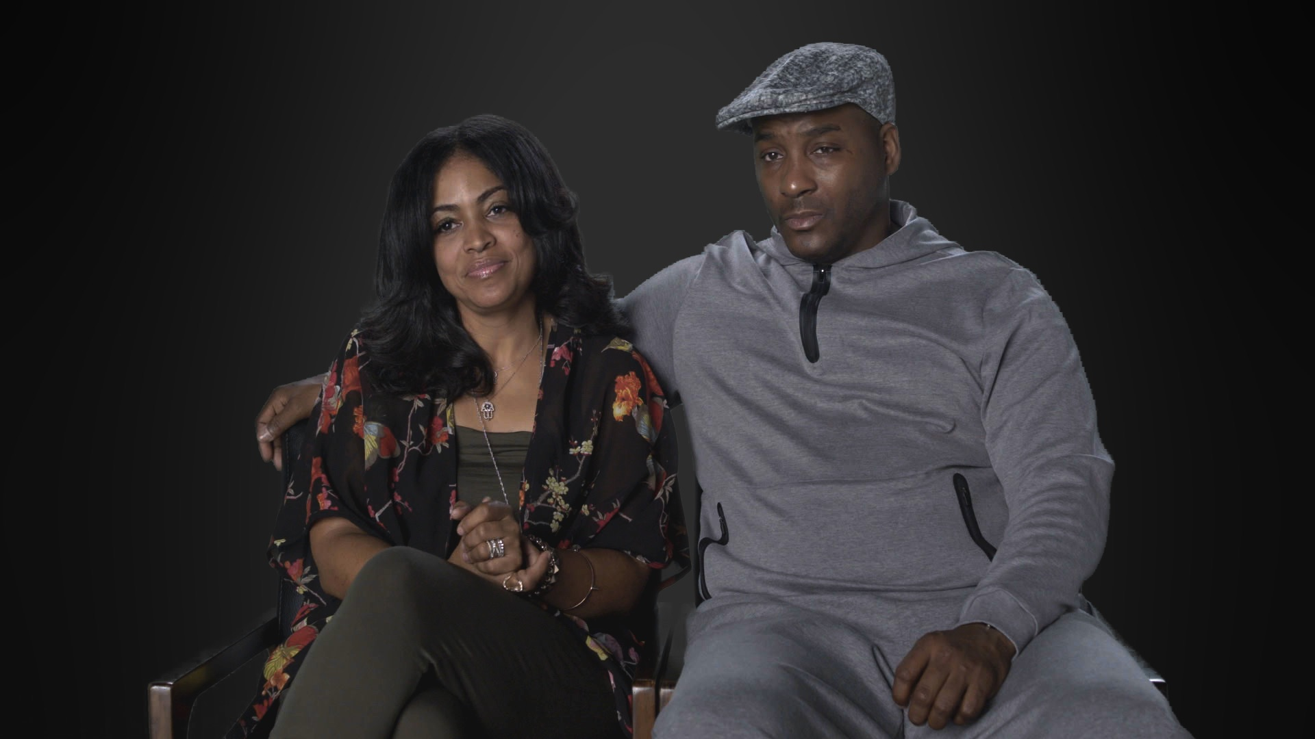 Alice Clary and Angelo Clary, the parents of Azriel Clary, in 'Surviving R. Kelly'