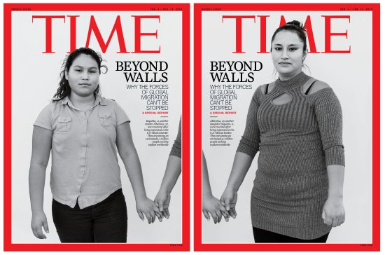 Beyond Walls Global Migration Time Magazine Cover