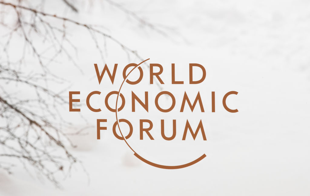 The 48th edition of the World Economic Forum annual meeting in Davos, Switzerland.