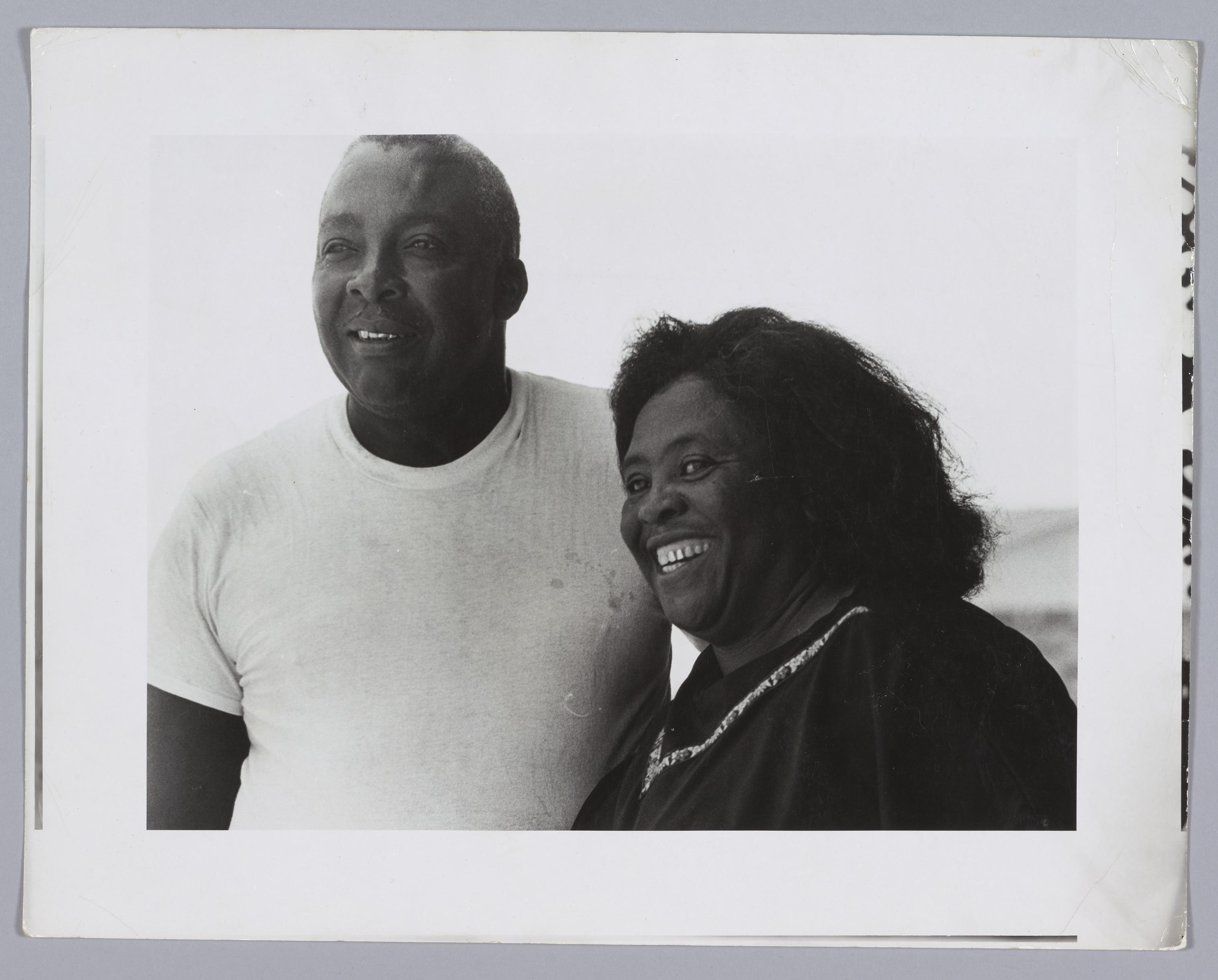 "Activist Fannie Lou Hamer and her husband Perry ""Pap"" Hamer"