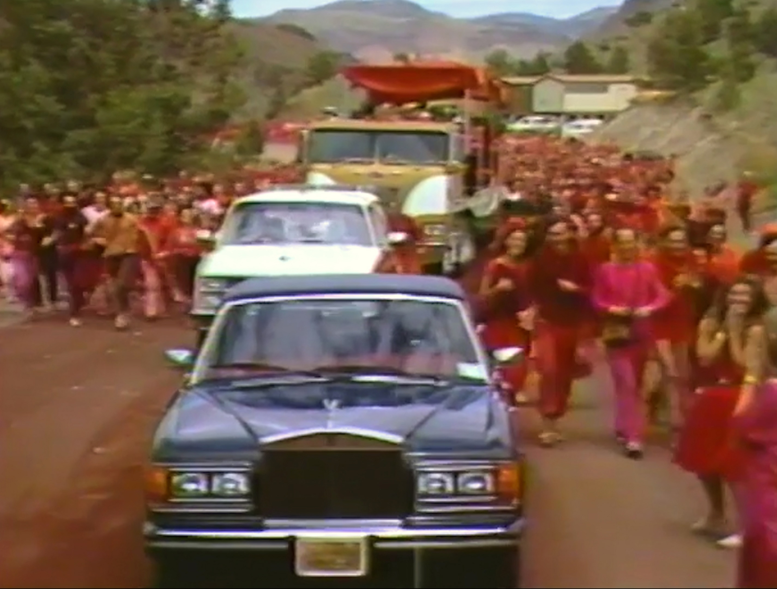 Scene from Wild Wild Country
